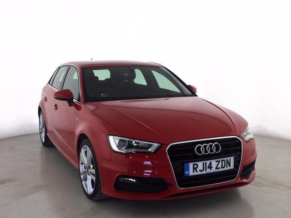 (2014) Audi A3 1.6 TDI S Line 5dr £750 Of Extras - Satellite Navigation - Bluetooth Connection - Zero Tax