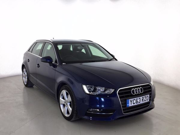 (2013) Audi A3 1.4 TFSI 140 Sport 5dr Sportback S Tronic With Paddle Shift £1000 Of Extras - Bluetooth Connection - £20 Tax - DAB Radio - Cruise Control
