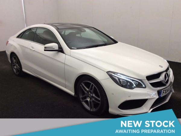 (2014) Mercedes-Benz E Class E250 CDI AMG Sport 2dr 7G-Tronic £3385 Of Extras - Panoramic Roof - Satellite Navigation - Luxurious Leather