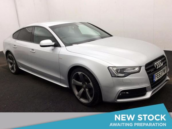 (2014) Audi A5 3.0 TDI 245 Quattro Black Ed S Tronic - 5 Seat Sportback Sports Paddle Shift - £6850 Of Extras - Satellite Navigation - Luxurious Leather - Bluetooth Connectivity