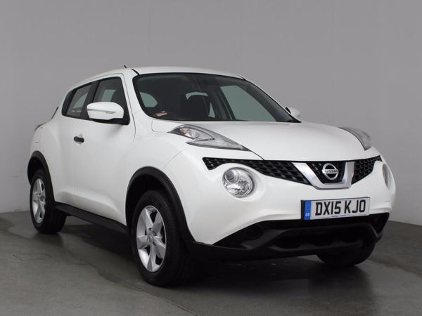 (2015) Nissan Juke 1.6 Visia 5dr - SUV 5 Seats Aux MP3 Input - Air Conditioning - 1 Owner