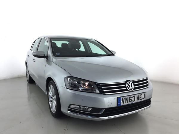 (2013) Volkswagen Passat 2.0 TDI Bluemotion Tech Highline 4dr Satellite Navigation - Bluetooth Connection - £30 Tax - Parking Sensors