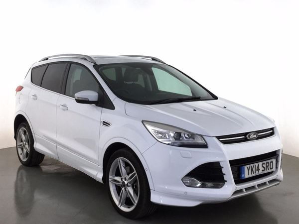 (2014) Ford Kuga 2.0 TDCi Titanium X 5dr 2WD - SUV 5 Seats £2525 Of Extras - Panoramic Roof - Bluetooth Connection - DAB Radio