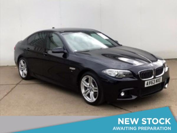 (2013) BMW 5 Series 520d M Sport 4dr Step Auto £4715 Of Extras - Satellite Navigation - Luxurious Leather - Bluetooth Connection