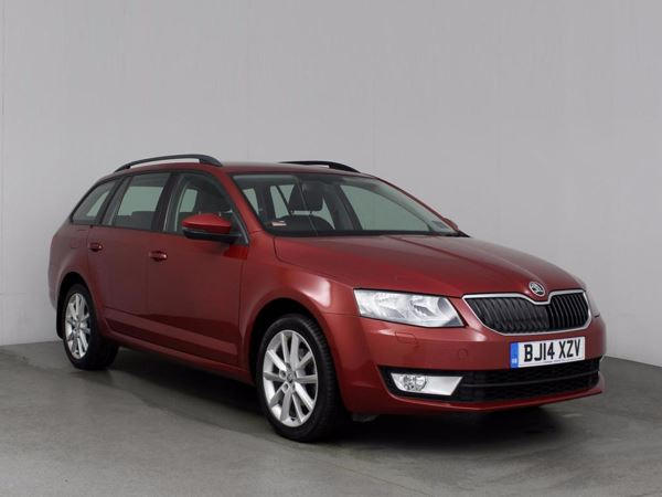(2014) Skoda Octavia 2.0 TDI CR Elegance 5dr £1155 Of Extras - Satellite Navigation - Bluetooth Connection - £20 Tax