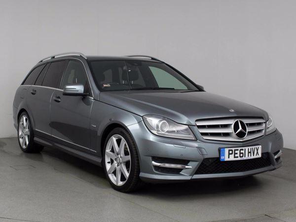 (2011) Mercedes-Benz C Class C250 CDI BlueEFFICIENCY Sport Edition 125 Auto £2640 Of Extras - Satellite Navigation - Bluetooth Connection - Parking Sensors