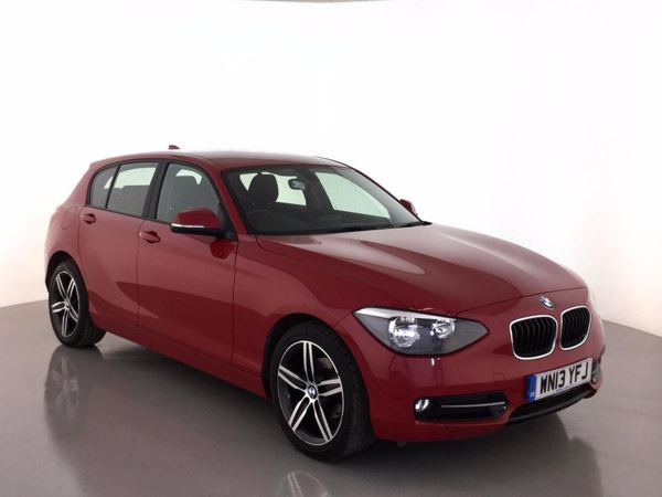 (2013) BMW 1 Series 116i Sport 5dr Step Auto [Business Media] £3130 Of Extras - Satellite Navigation - Bluetooth Connection - DAB Radio