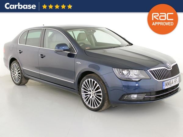 (2015) Skoda Superb 2.0 TDI CR 140 Laurin + Klement 5dr Satellite Navigation - Bluetooth Connection - £30 Tax - Parking Sensors - DAB Radio - Aux MP3 Input