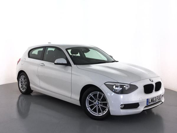 (2013) BMW 1 Series 116d EfficientDynamics 3dr Bluetooth Connection - Zero Tax - DAB Radio - Aux MP3 Input - USB Connection