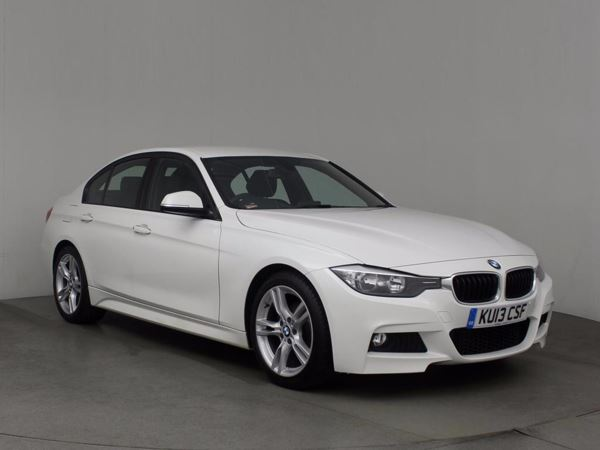(2013) BMW 3 Series 320d M Sport 4dr £1135 Of Extras - Luxurious Leather - Bluetooth Connection - £30 Tax