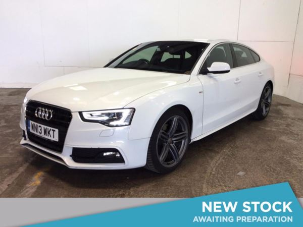 (2013) Audi A5 2.0 TDI 177 S Line 5dr £1775 Of Extras - Luxurious Leather - Bluetooth Connection - £30 Tax