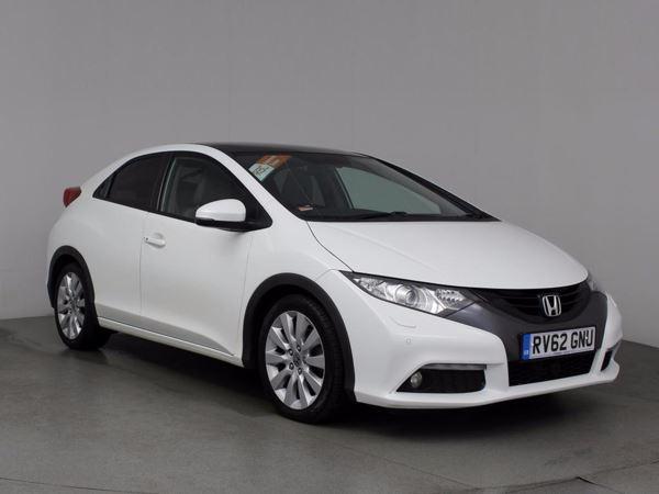 (2012) Honda Civic 2.2 i-DTEC EX GT 5dr Satellite Navigation - Bluetooth Connection - £30 Tax - Rain Sensor - CruisE