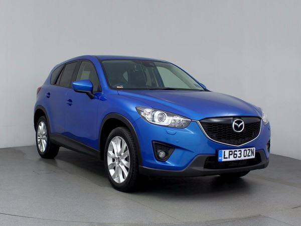 (2014) Mazda CX-5 2.2d Sport Nav 5dr Satellite Navigation - Bluetooth Connection - £30 Tax - Aux MP3 Input - USB