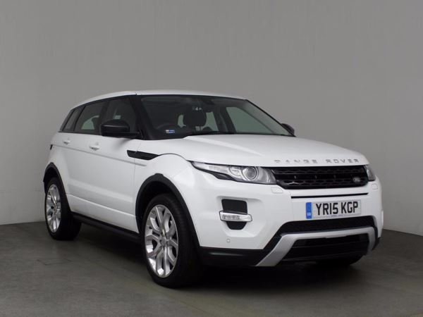 (2015) Land Rover Range Rover Evoque 2.2 SD4 Dynamic 5dr Auto - SUV 5 Seats Panoramic Roof - Satellite Navigation - Bluetooth Connection - Parking Sensors