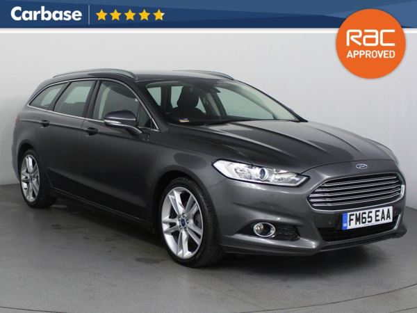(2015) Ford Mondeo 2.0 TDCi 180 Titanium 5dr Estate £1445 Of Extras - Satellite Navigation - Bluetooth Connection - Parking Sensors - DAB Radio