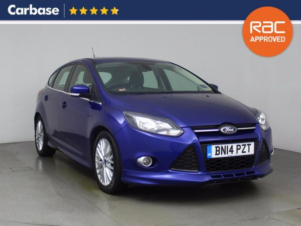 (2014) Ford Focus 1.6 TDCi 115 Zetec S 5dr Bluetooth Connection - £20 Tax - DAB Radio - Aux MP3 Input - USB Connection