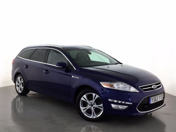 (2014) Ford Mondeo 2.0 TDCi 140 Titanium X Business Edition 5dr Satellite Navigation - Luxurious Leather - Bluetooth Connection - £30 Tax
