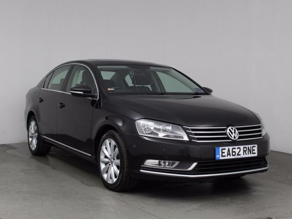 (2012) Volkswagen Passat 2.0 TDI Bluemotion Tech Highline 4dr £1930 Of Extras - Satellite Navigation - Bluetooth Connection - £30 Tax