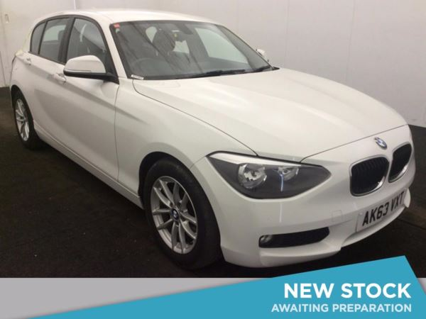 (2014) BMW 1 Series 116d EfficientDynamics 5dr Bluetooth Connection - Zero Tax - DAB Radio - Aux MP3 Input - USB Connection