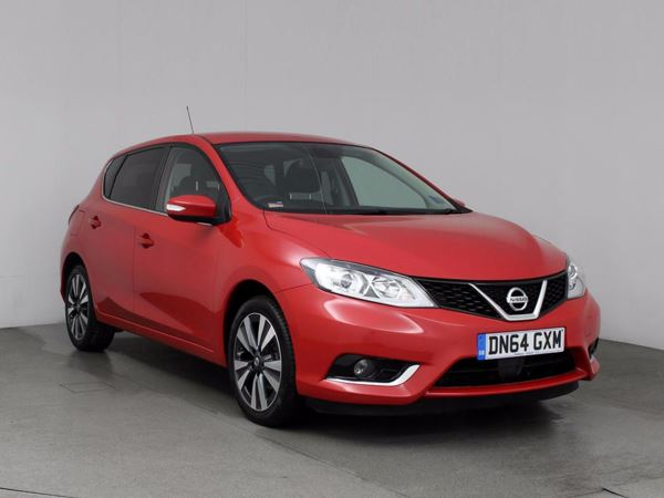 (2015) Nissan Pulsar 1.2 DiG-T N-Tec 5dr Satellite Navigation - Bluetooth Connection - £30 Tax - Cruise Control
