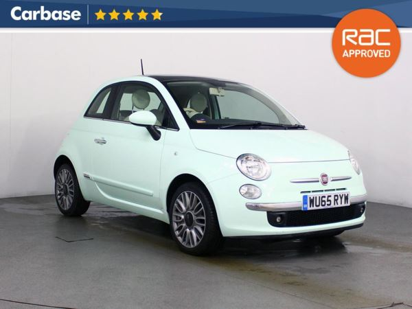 (2015) Fiat 500 1.2 Lounge 3dr Panoramic Roof - Bluetooth Connection - Parking Sensors - Aux MP3 Input - USB Connection - 1 Owner