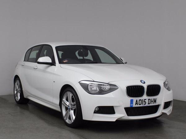 (2015) BMW 1 Series 125d M Sport 5dr Bluetooth Connection - Alcantara - DAB Radio - Aux MP3 Input
