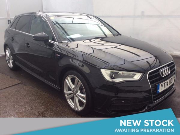 (2014) Audi A3 2.0 TDI S Line 5dr £3350 Of Extras - Panoramic Roof - Satellite Navigation - Luxurious Leather
