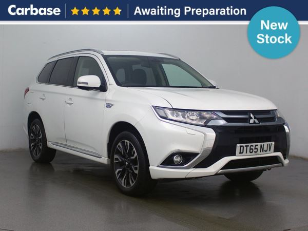 (2016) Mitsubishi Outlander 2.0 PHEV GX4h 5dr Auto - SUV 5 Seats Luxurious Leather - Bluetooth Connection - Parking Sensors - Rain Sensor
