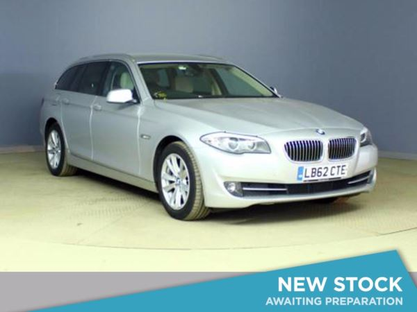 (2012) BMW 5 Series 520d SE 5dr Step Auto [Start Stop] £3665 Of Extras - Satellite Navigation - Luxurious Leather - Bluetooth
