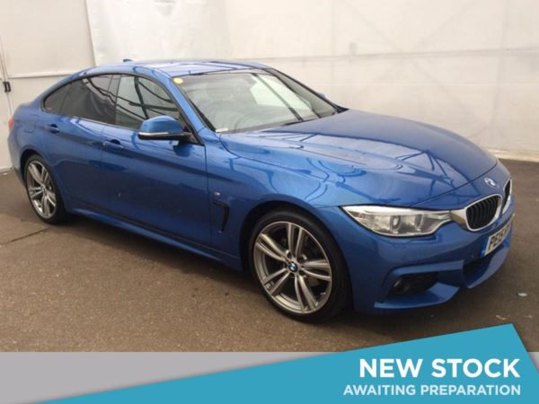 (2015) BMW 4 Series 420d [190] M Sport 5dr Auto [Professional Media] £3570 Of Extras - Satellite Navigation - Luxurious Leather - Bluetooth Connection