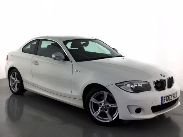 (2012) BMW 1 Series 118d Exclusive Edition 2dr £1355 Of Extras - Luxurious Leather - Bluetooth Connection - £30 Tax - Aux