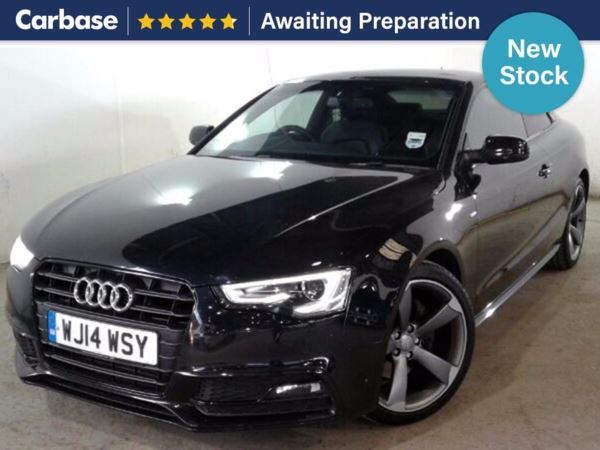 (2014) Audi A5 3.0 TDI 204 Black Edition 2dr Multitronic £5795 Of Extras - Satellite Navigation - Luxurious Leather - Bluetooth Connection