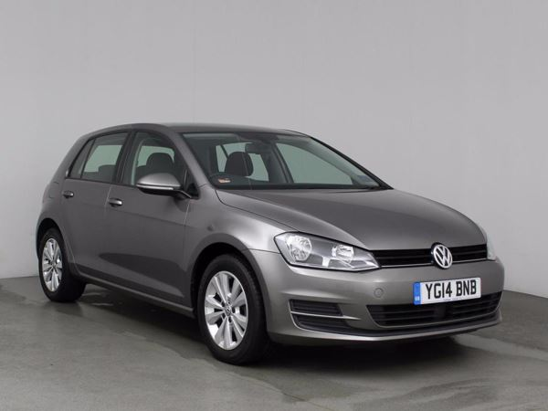 (2014) Volkswagen Golf 1.6 TDI 105 SE 5dr £710 Of Extras - Bluetooth Connection - Zero Tax - DAB Radio - Rain Sensor