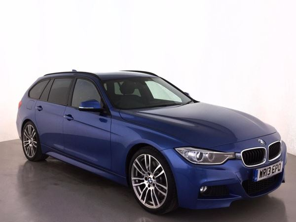 (2013) BMW 3 Series 330d M Sport 5dr Step Auto Touring £3315 Of Extras - Satellite Navigation - Luxurious Leather - Bluetooth Connectivity