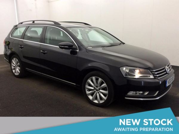 (2013) Volkswagen Passat 2.0 TDI Bluemotion Tech Highline 5dr Estate £720 Of Extras - Satellite Navigation - Bluetooth Connection - £30 Tax