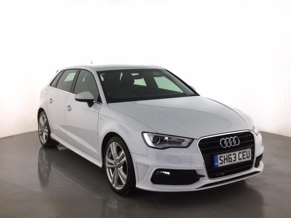 (2013) Audi A3 2.0 TDI S Line 5dr £1020 Of Extras - Satellite Navigation - Luxurious Leather - Bluetooth Connection
