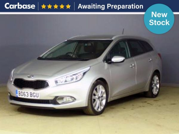 (2013) Kia Ceed 1.6 CRDi 4 5dr Estate Satellite Navigation - Bluetooth Connection - £30 Tax - USB Connection