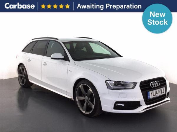(2014) Audi A4 2.0 TDI 177 Black Edition 5dr Multitronic 5dr Avant £2110 Of Extras - Satellite Navigation - Bluetooth Connection - Parking Sensors