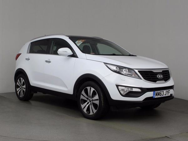 (2014) Kia Sportage 1.7 CRDi ISG 3 5dr - SUV 5 Seats Panoramic Roof - Luxurious Leather - Bluetooth Connection - USB Connection