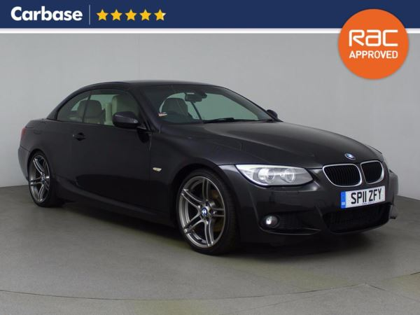 (2011) BMW 3 Series 320d M Sport 2dr Convertible £2770 Of Extras - Luxurious Leather - Bluetooth Connection - Parking Sensors