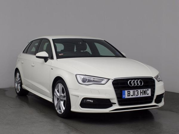 (2013) Audi A3 2.0 TDI S Line 5dr £605 Of Extras - Luxurious Leather - Bluetooth Connection - £20 Tax