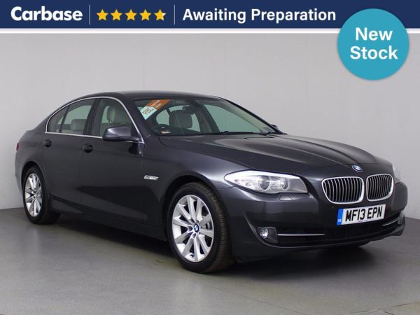 (2013) BMW 5 Series 520d SE 4dr Step Auto £5020 Of Extras - Satellite Navigation - Luxurious Leather - Bluetooth Connection