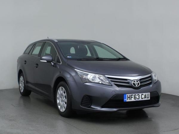 (2013) Toyota Avensis 2.0 D-4D Active 5dr 1 Owner - £30 Tax - Bluetooth - Aircon - Diesel Estate