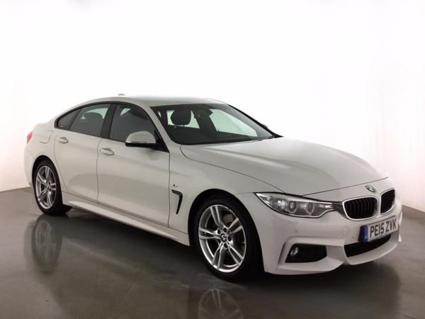 (2015) BMW 4 Series 428i M Sport 5dr Auto Coupe Satellite Navigation - Luxurious Leather - Bluetooth Connection