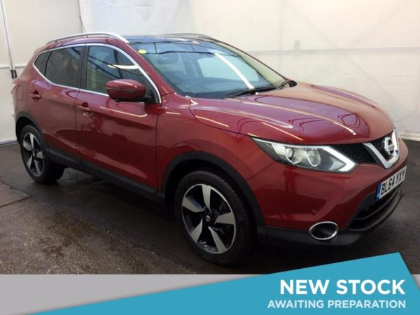 (2014) Nissan Qashqai 1.5 dCi N-Tec+ 5dr Satellite Navigation - Bluetooth Connection - Zero Tax - Cruise Control