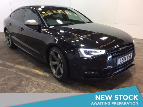 (2014) Audi A5 2.0 TDI 177 Black Edition 5dr 5 Seat Sportback £8350 Of Extras - Satellite Navigation - Luxurious Leather - Bluetooth Connection