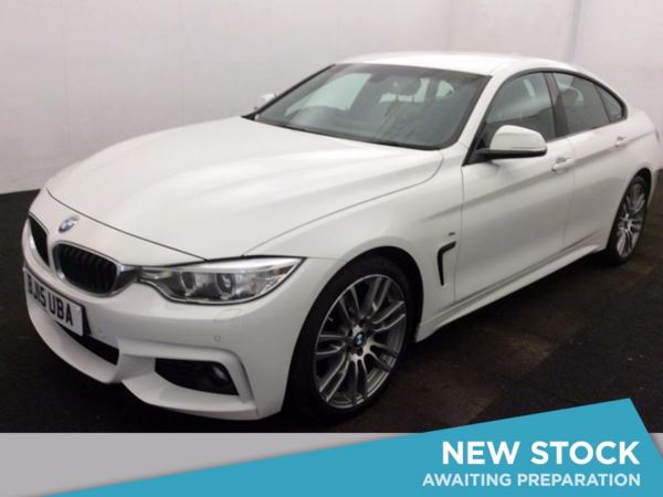 (2015) BMW 4 Series 420d [190] M Sport 5dr Auto [Professional Media] Satellite Navigation - Luxurious Leather - Bluetooth Connection - £30 Tax