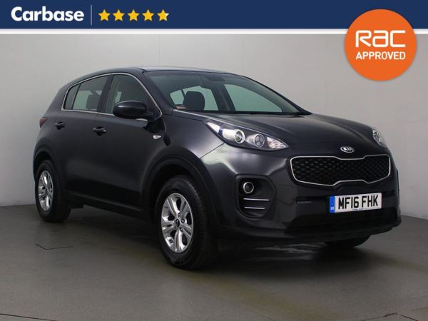 (2016) Kia Sportage 1.6 GDi ISG 1 5dr - SUV 5 Seats Bluetooth Connection - DAB Radio - Aux MP3 Input - USB Connection