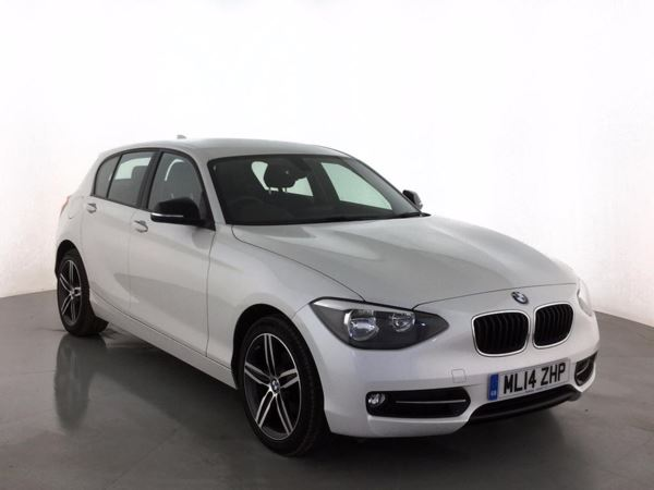 (2014) BMW 1 Series 116d Sport 5dr £640 Of Extras - Bluetooth Connection - £30 Tax - DAB Radio - Aux MP3 Input