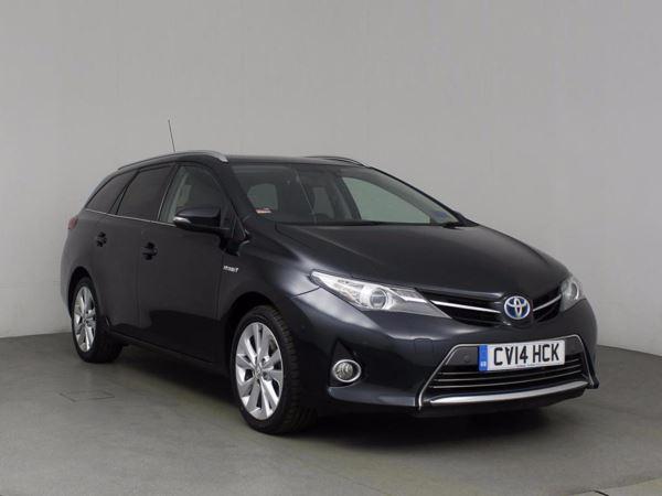(2014) Toyota Auris 1.8 VVTi Hybrid Excel 5dr CVT Auto Estate Plug In Hybrid Bluetooth Connection - Zero Tax - Parking Sensors - DAB Radio - Aux MP3 Input